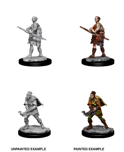 Female Human Ranger: D&D Nolzur's Marvelous Unpainted Miniatures